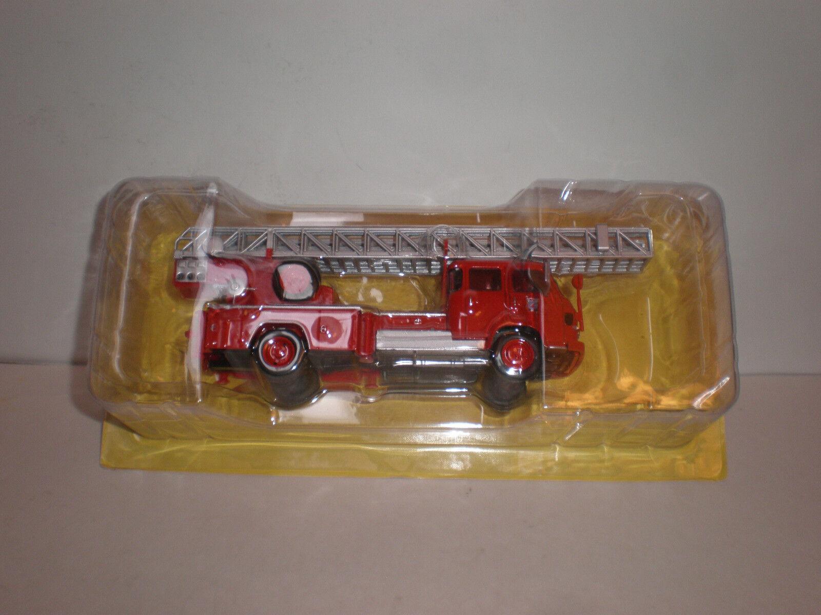 1 43  Saviem S7   Fire ladder Altaya