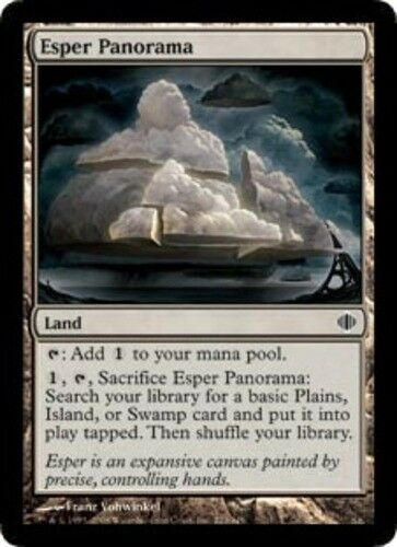 4 Esper Panorama ~ Near Mint Shards of Alara 4x x4 Playset UltimateMTG Magic Lan