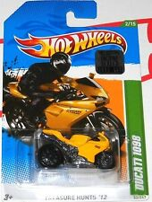 2012 HOT WHEELS FACTORY SET DUCATI 1098 TREASURE HUNT