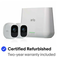 Arlo VMS4230P-100NAR Pro2 2 HD Cameras Security System - Certified Refurbished