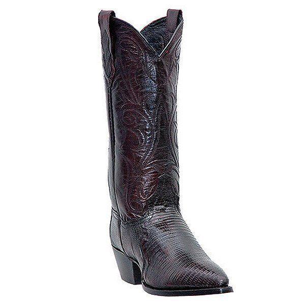 Dan Post para dama DP2452J DP2452J DP2452J Teju lagarto Negro Cereza Western Cowgirl bota 6M Nuevo  100% a estrenar con calidad original.