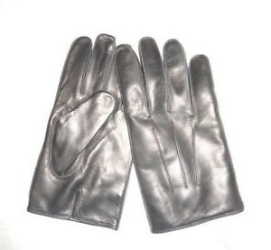 18dc3e4890b1c COACH Men's Basic Nappa Cashmere Lined Leather Gloves BLACK NWT ...