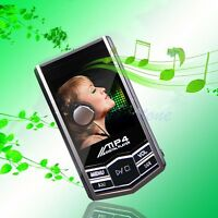 "4G 8G Video Slim 1.8"" Screen LCD MP3 MP4 Player Music Video FM Radio +Earphone"