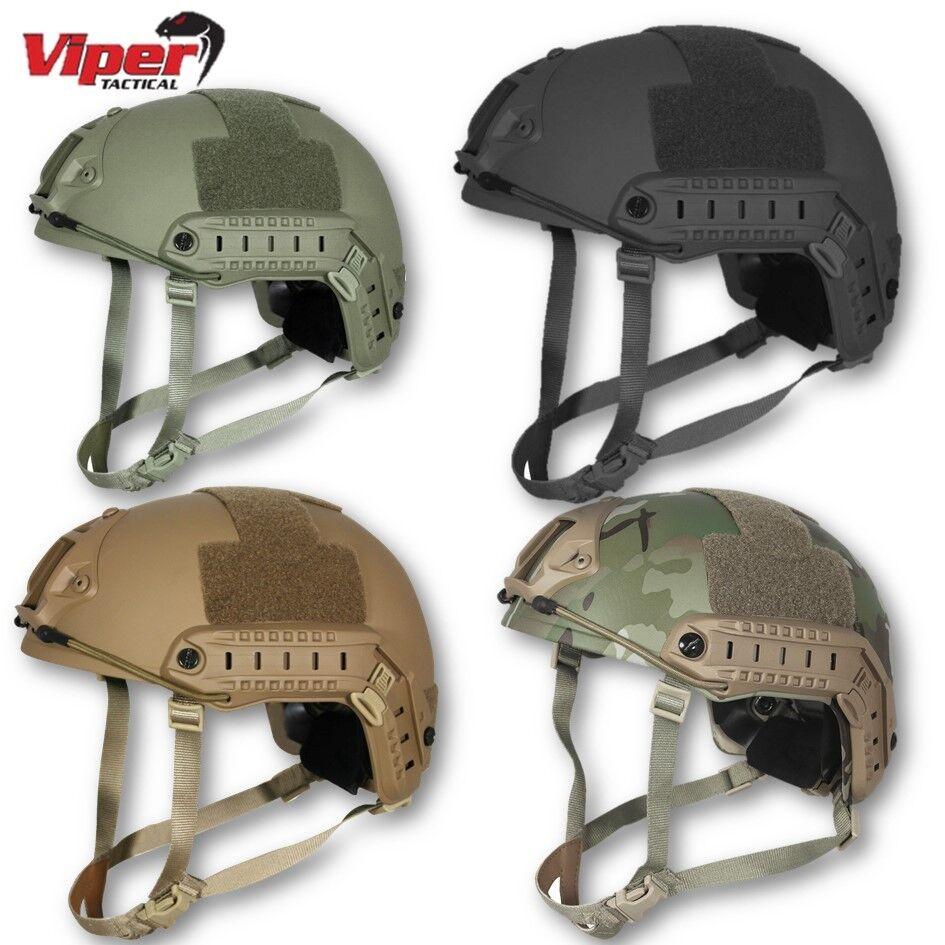 Casco rápido Viper Airsoft Headgear Special OPS Ejército Militar Táctico de Paintball