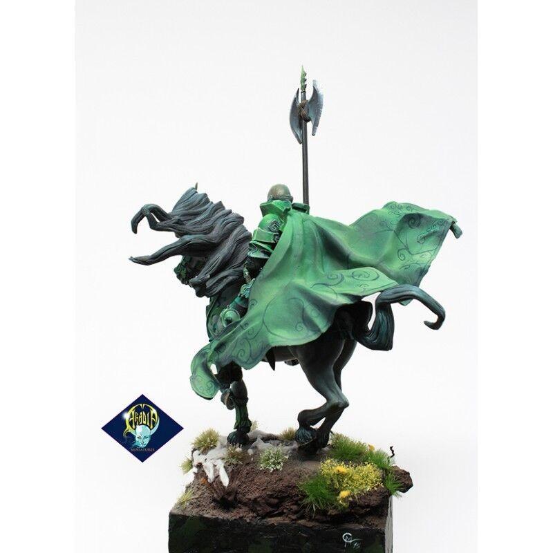 Aradia The Green Knight (1) 75mm Miniature Miniature Miniature Arthurian Myth Mounted Warrior Hero bfa395