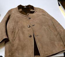 Mens Sheepskin Warehouse Lambskin Coat Suede finish Size 44