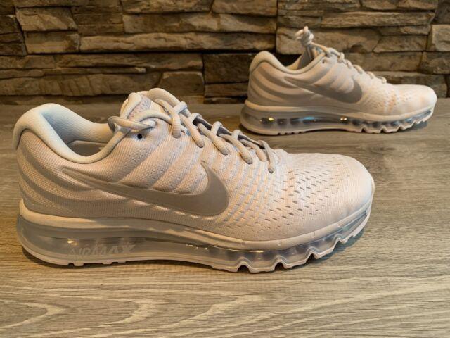Size 12 - Nike Air Max 2017 Pure Platinum - 849560-009