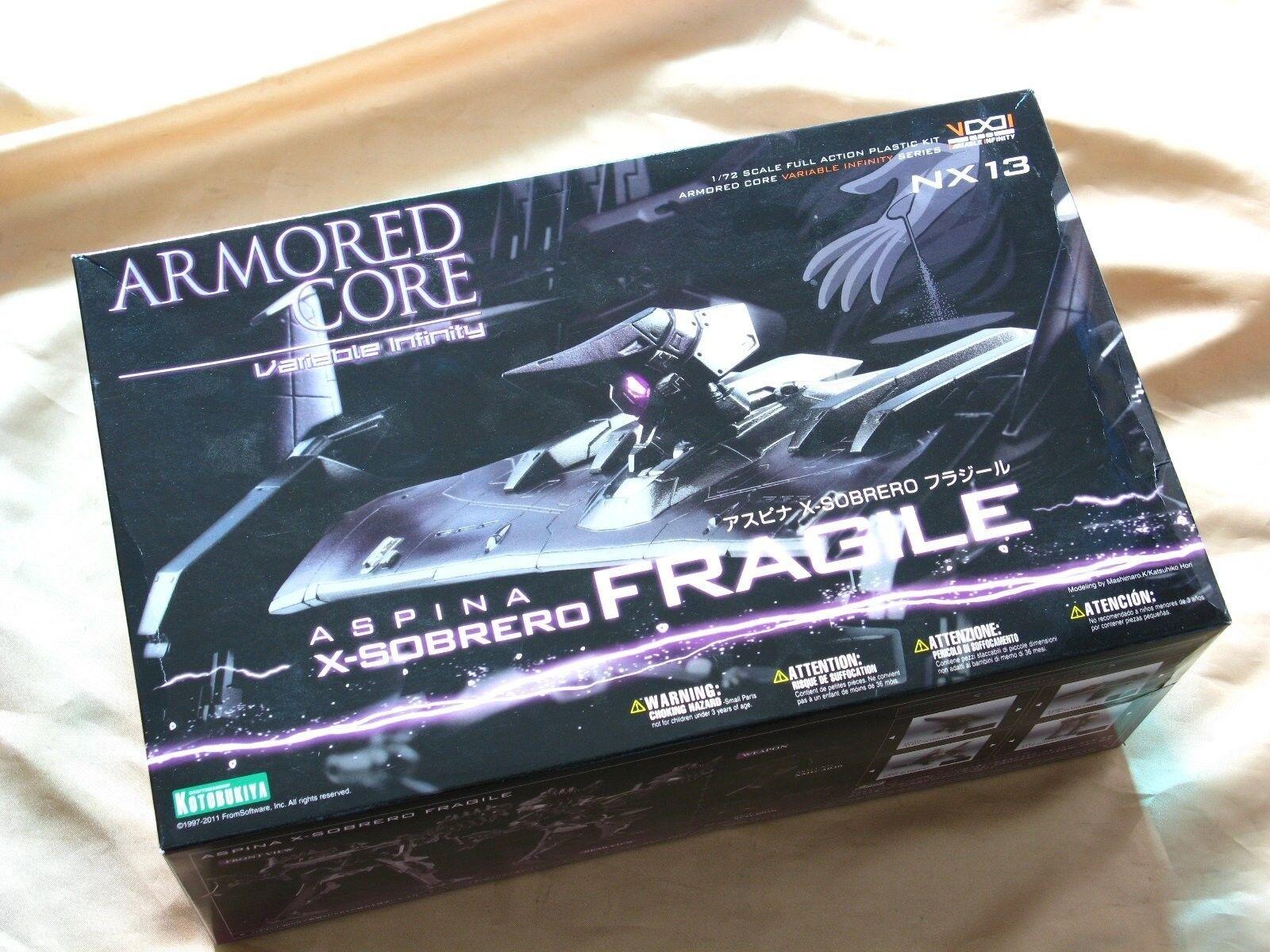 Armored Core NX-13 1 72 Aspina X-Sobrero Fragile