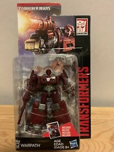Transformers Legends 3.75inch Warpath Collectors Card Included