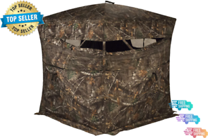 Blinds R150 3 Person Hunting Ground Blind. Free Shipping