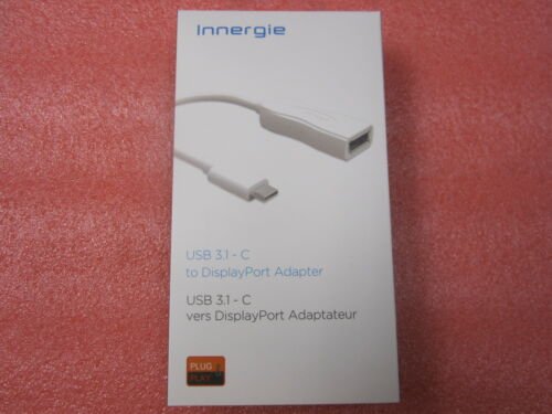 C to DisplayPort DP Adapter Play/&Plug Cable Innergie New High Speed USB 3.1