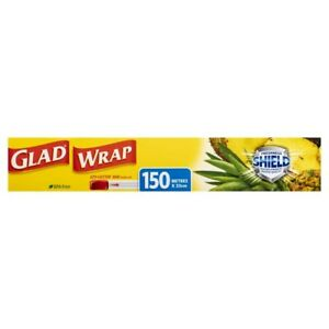 Glad BPA Free Proven Strength Freshness Shield Ezy Cutter Bar Cling Wrap