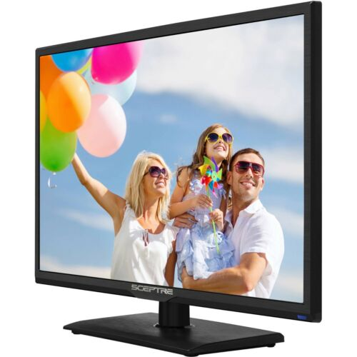 "NEW Sceptre 24/"" 1080p 60Hz Class LED HDTV Slim Flat Screen HDMI USB Class Wall"