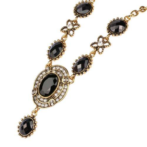 Stunning Vintage Statement Necklace Chain