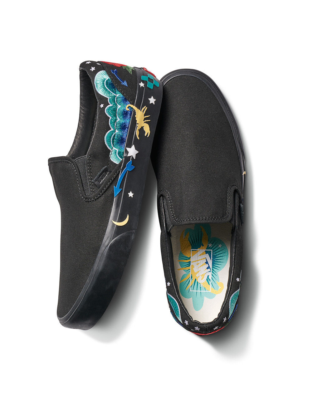 [FREE WORLDWIDE SHIPPING] VANS Slip-On Desert Embellish VN0A38F7T2A M8.0 W9.5