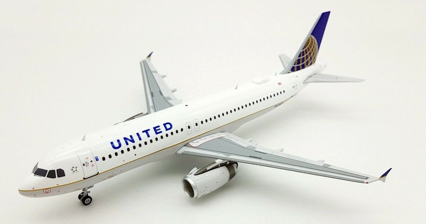 Fliegender 200 IF3201117 1/200 United Airlines Airbus A320-200 N491ua mit