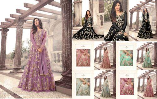Anarkali salwar kameez Bollywood Designer suit Ethnic Pakistani dupatta party