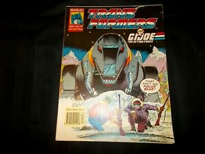 Transformers-Comic-amp-GI-Joe-Issue-267-April-28th-1990-Grimlock-Aint-No-Bear