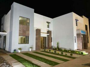 En venta preciosa casa nueva en Alcorce del Bosque en zona dorada Mexicali