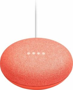 Google-Home-Mini-Smart-Speaker-with-Google-Assistant-Coral-Brand-New