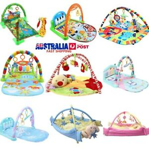 9-Type-Baby-Infant-Lay-Play-Mat-Activity-Playmat-Fitness-Music-Fun-Piano-Toy-AU