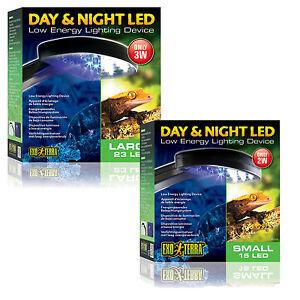 Exo Terra Day Amp Night Led Fixture Reptile Vivarium Light