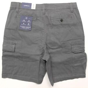 Men-039-s-Croft-amp-Barrow-Ultimate-Comfort-Cargo-Shorts-MC71X310RS-020-Castlerock