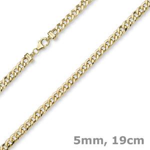 5mm-Armband-Panzerkette-Armkette-aus-585-Gold-Gelbgold-glaenzend-19cm-Armschmuck
