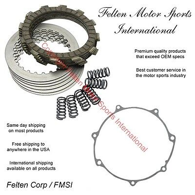 2005-2006 Friction /& Steel Plates Yamaha Complete Clutch Kit YZ 450 F Springs