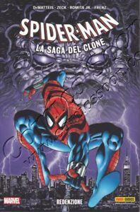 SPIDER-MAN-LA-SAGA-DEL-CLONE-10-REDENZIONE-Marvel-Italia-NUOVO