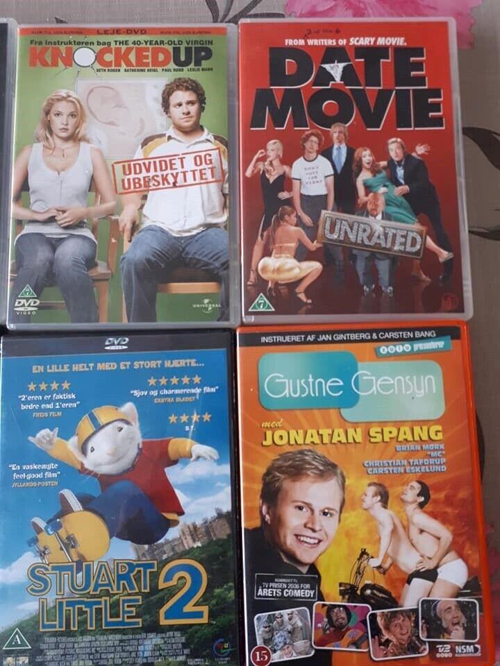 div. DVD, DVD, andet