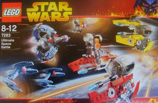 Lego STAR WARS  7283 Ultimate Space Battle  Nuovo Sealed HTF