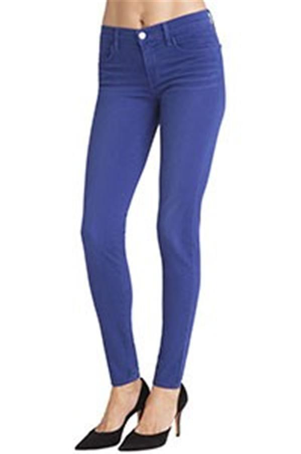 J Brand Super SKINNY Coated Jeans Leggings Pants Tex C blueeberry  227