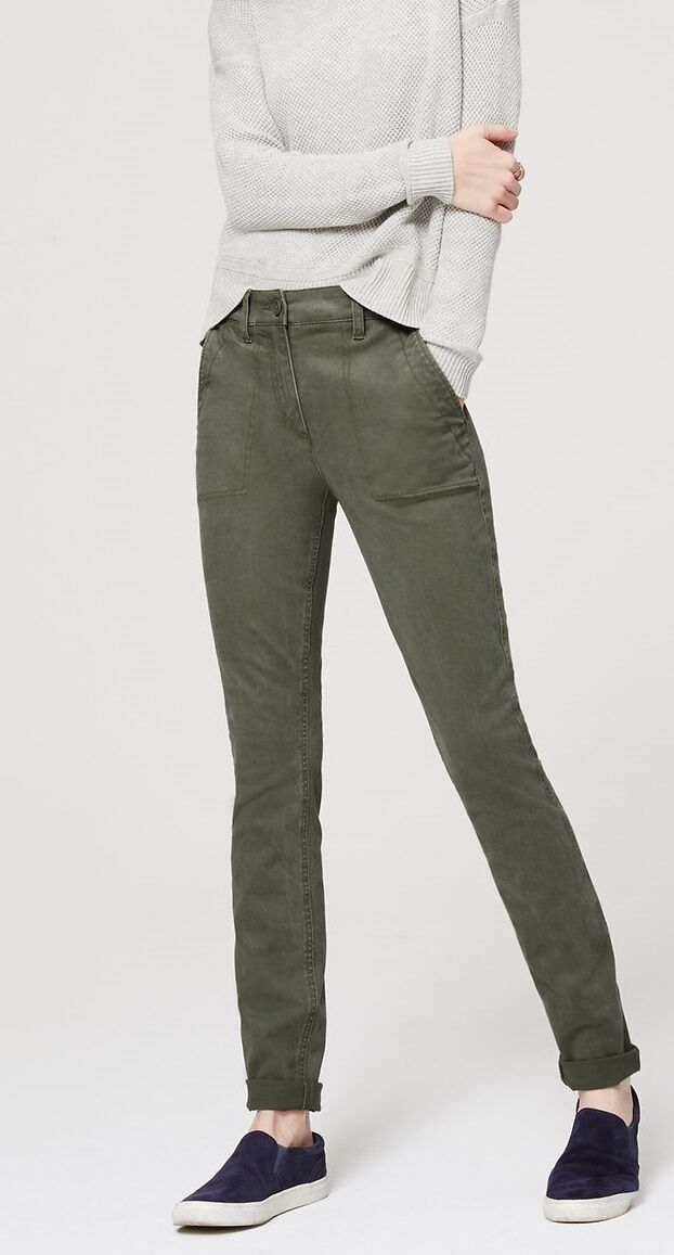 Ann Taylor LOFT High Waist Skinny Utility Pants Various colors and Sizes NWT