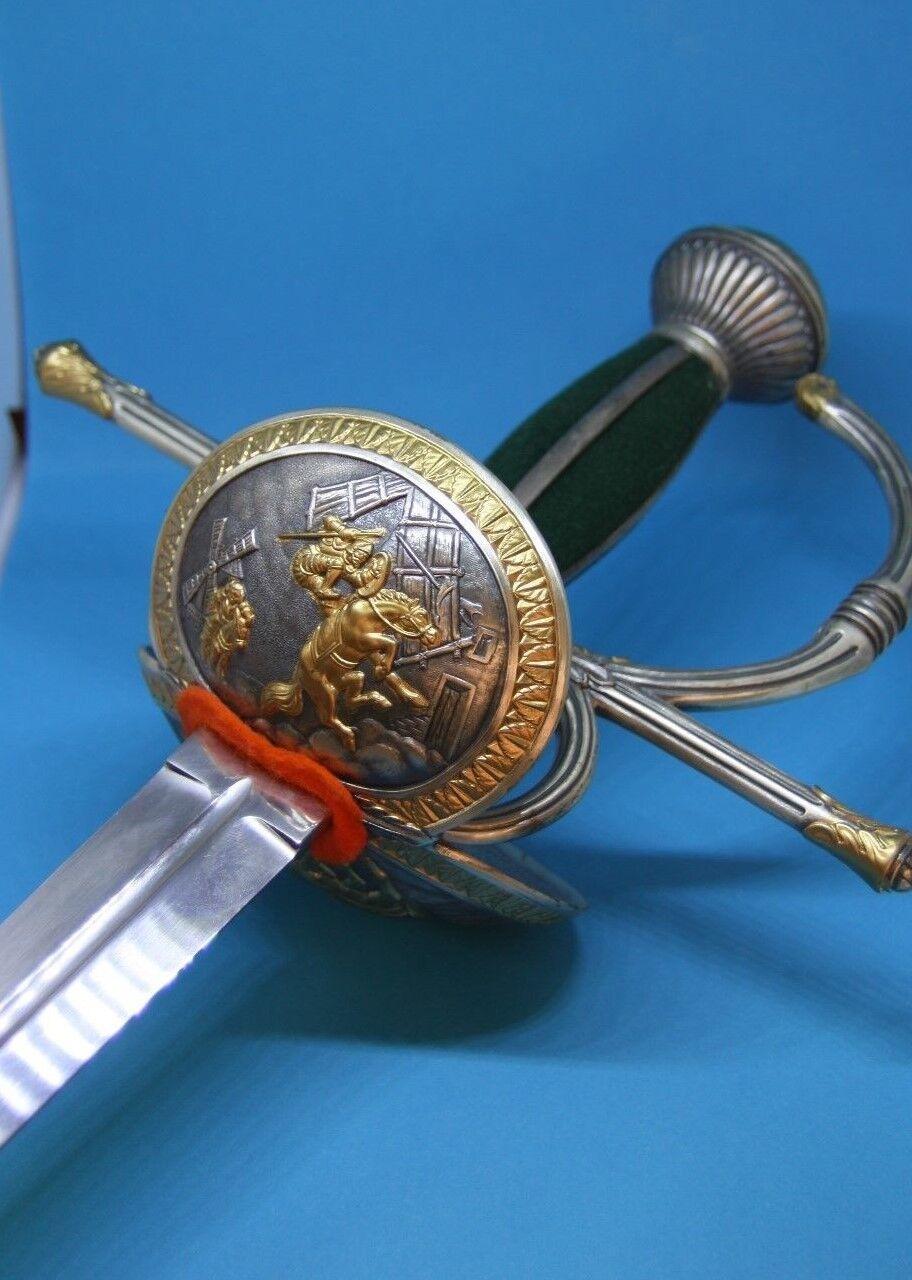 Collectibles Tv, Film & Game Replica Blades Don Quixote Legend Sword By Marto Of Toledo Spain 750s