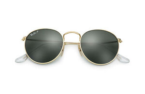 d727df92dd Ray-Ban RB3447 Polarized Gold Classic G-15 Lens Sunglasses MADE IN ...