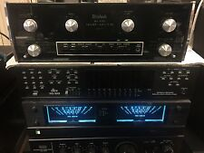 McIntosh MA6100 Preamplifier/Amplifier - Integrated Amplifier - Working