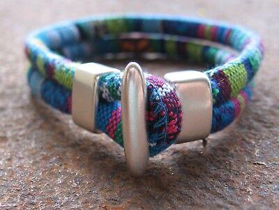Ethno Armband Blau Surfer Bunt Herren Damen Grün Damenarmband Herrenarmband Neu