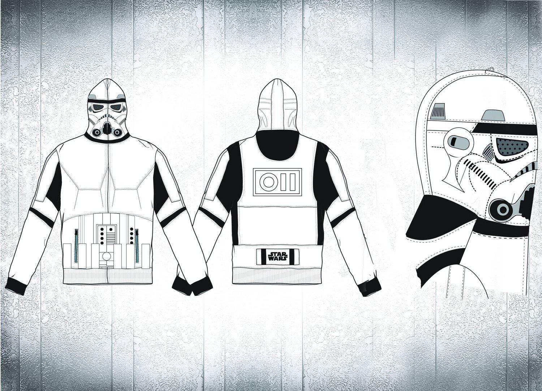 Star Wars Stormtrooper Costume Hoodie