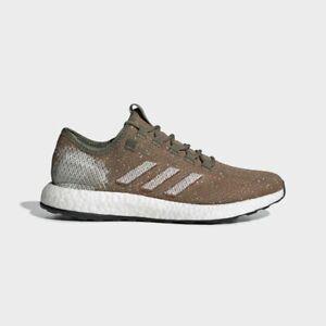 Details about Brand New!! Adidas Pure Boost B37786 Men's 7.5 - Raw Khaki/Orange Running Shoe