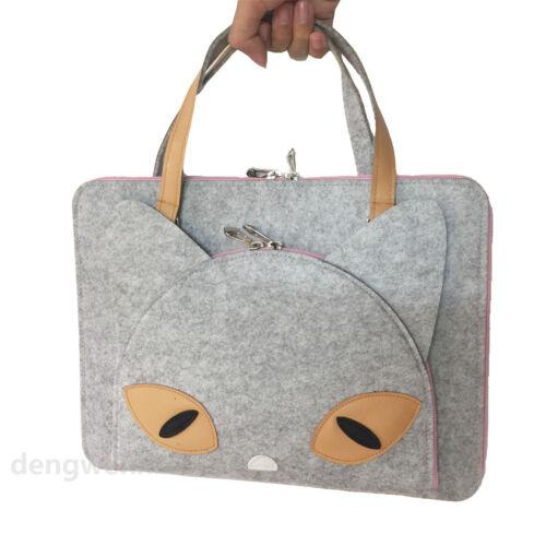 """Wool Sleeve case handbag For 13/"""" 13.3/"""" in Laptop Notebook Apple MacBook Pro//Air"""