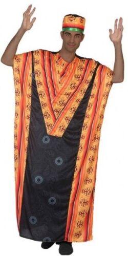 Da Uomo tribù africana leader intorno al mondo Costume Vestito M//L /& XL