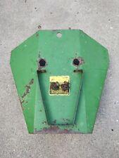 John Deere Model 27 Flail Shredder Gear Box Shield Ae36042 Withhose Support E47495