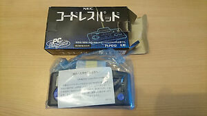 Cordless-Pad-NEC-PC-Engine-PI-PD12-import-JAP-NEUF-rare