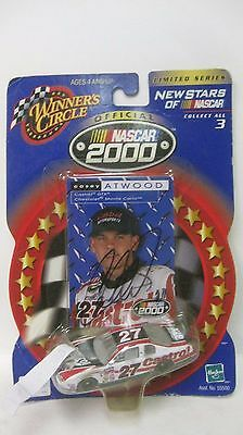 Cars: Racing, Nascar Obliging Nascar 2000 Neu Sternen Casey Atwood Signiert #27 Chevy 1:64 Druckguss Dc1483