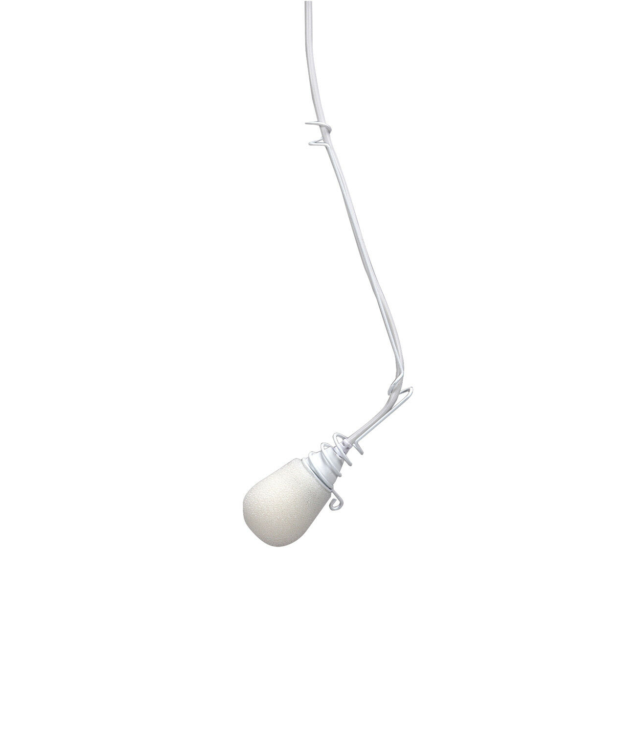 Peavey Vcm 3 Choir Miniature Microphone W  Windscreen & Cable - White 577960 New