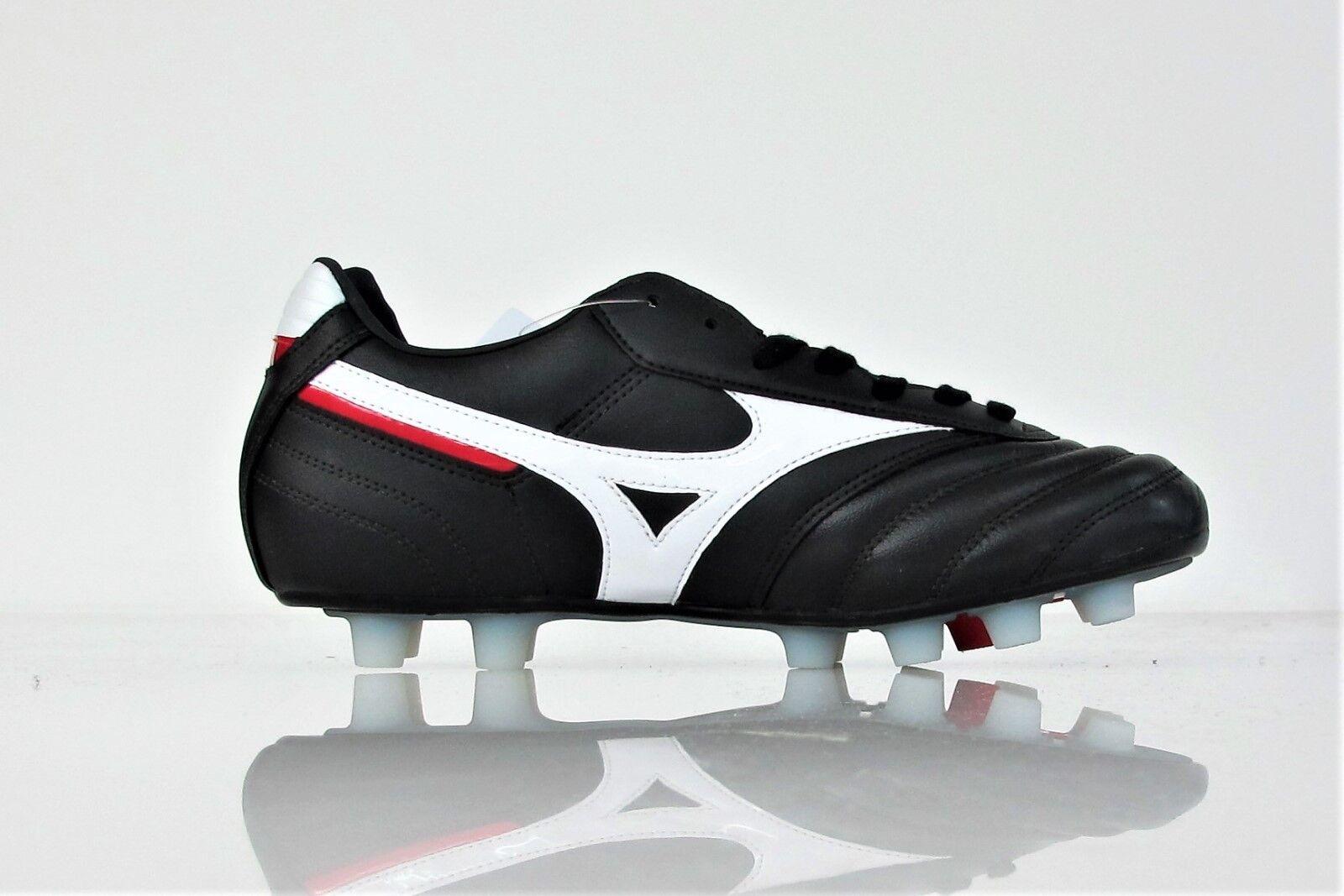 MIZUNO scarpe calcio MRL CLASSIC MD 12KP97401 color NERO/BIANCO NERO/BIANCO NERO/BIANCO 3f2f60