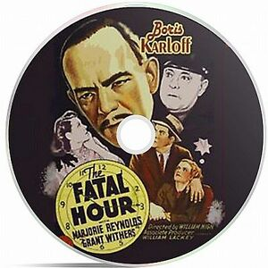 The Fatal Hour Black And White Public Domain film Converted To DVD - Doncaster, South Yorkshire, United Kingdom - The Fatal Hour Black And White Public Domain film Converted To DVD - Doncaster, South Yorkshire, United Kingdom