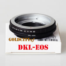 DKL-EOS Adapter for Voigtlander Retina DKL Lens to Canon EOS EF Mount DKL-EOS