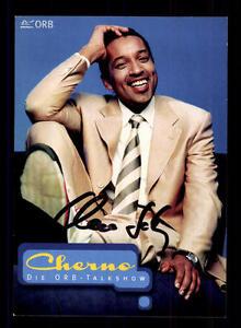 Tv Selbstlos Cherno Jobatey Autogrammkarte Original Signiert # Bc 93433 100% Original